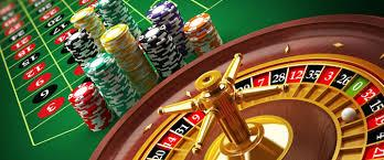 online roulette and casino table
